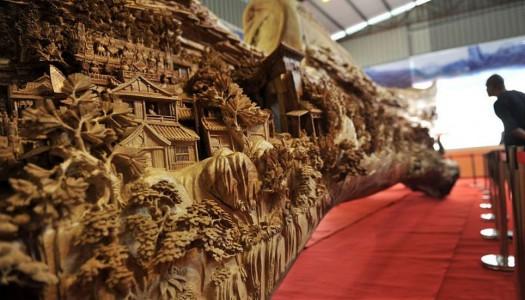 Najimpozantnija skulptura od jednog komada celog drveta