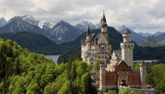 Oživite bajku u dvorcima Bavarske