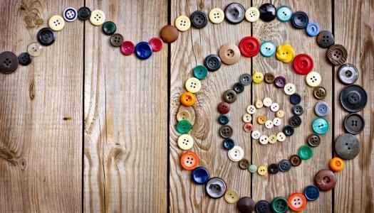 Ne bacajte staru dugmad – budite kreativni
