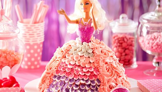 Uvek aktuelna rođendanska torta za devojčice