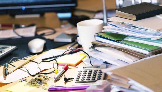 Neuredan radni sto je dobar znak- evo i zašto