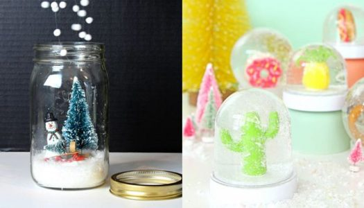 DIY – Zimska bašta i snežna kugla